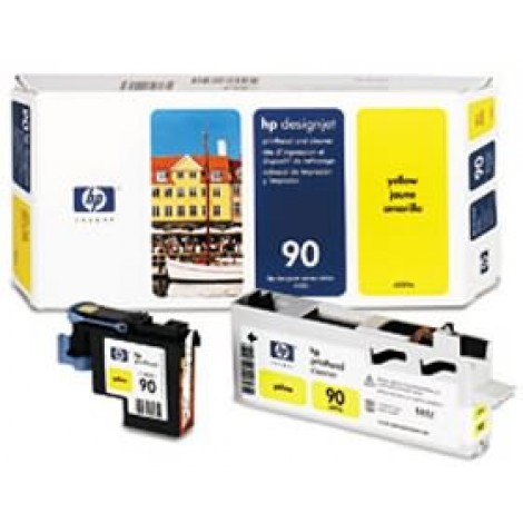 image else for Hp No 90 Printhead And Cleaner Yellow C5057a C5057A