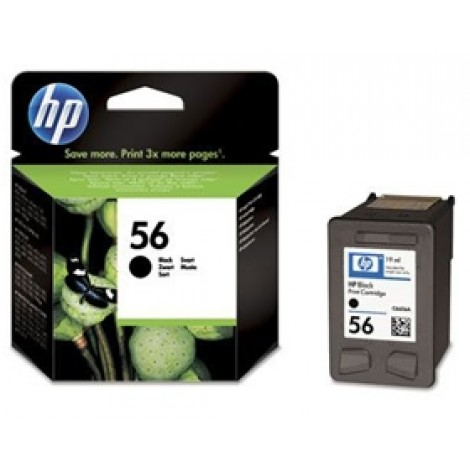 image else for Hp C6656aa Hp No.56 Black Inkjet Cartridge C6656AA