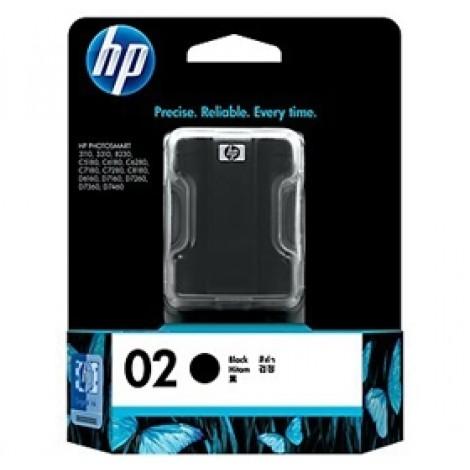 image else for Hp C8721wa Hp 02 Ap Black Ink Cartridge C8721WA