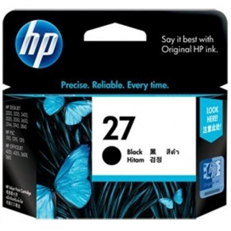 image else for Hp C8727aa Hp No.27 Black Inkjet Cartridge C8727AA