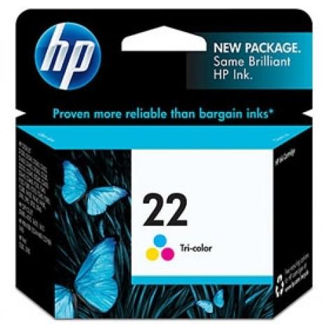 image else for Hp C9352aa Hp 22 Tricolor Ap Inkjet Print Cartridge Ap C9352AA