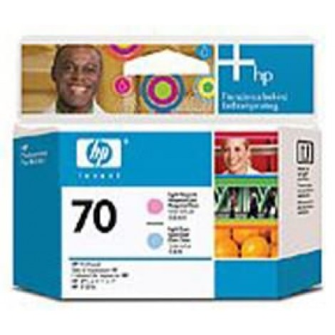 image else for Hp 70 Printhead Lt Cyan And Lt Magenta C9405a C9405A