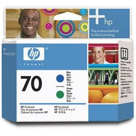 image else for Hp No 70 Blue And Green Printhead C9408a C9408A