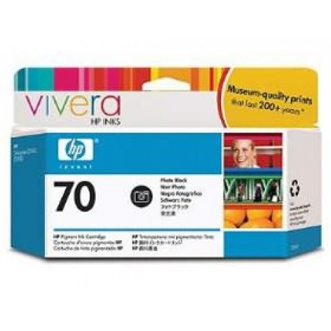 image else for Hp No 70 Ink Cartridge 130 Ml Black Photo C9449a C9449A