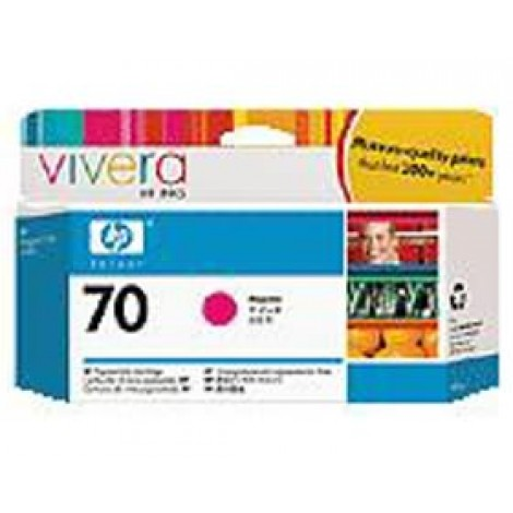 image else for Hp 70 Ink Cartridge 130 Ml Magenta C9453a C9453A