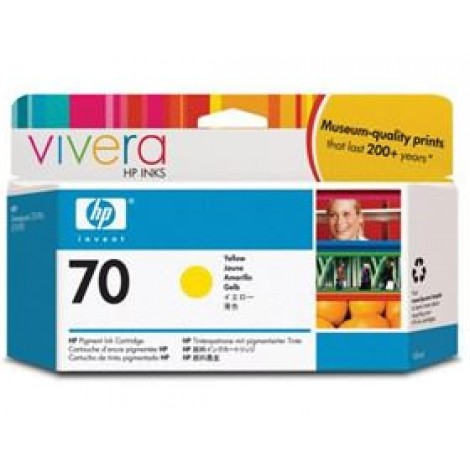 image else for Hp No 70 Ink Cartridge 130 Ml Yellow C9454a C9454A