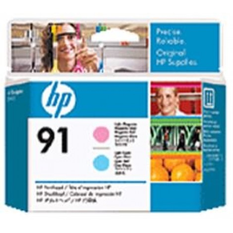 image else for Hp 91 Lt Magenta And Lt Cyan Printhead C9462a C9462A