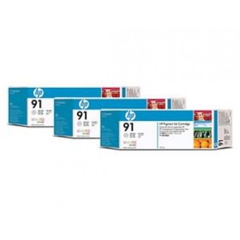 image else for Hp 91, 3 Ink Multi Pack Light Gray C9482a C9482A