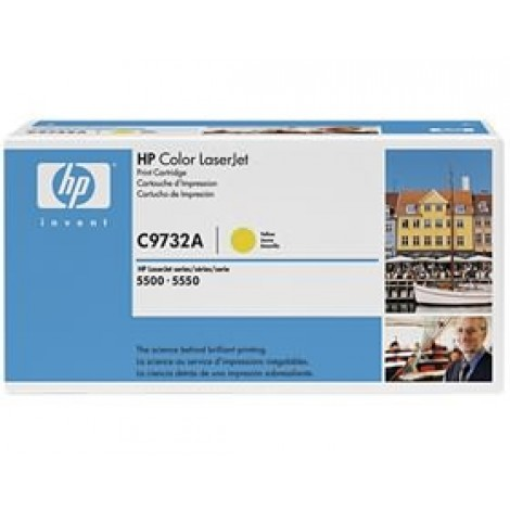 image else for Hp C9732a Toner Cartridge Yellow C9732a C9732A