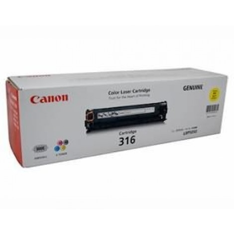image else for Canon Cart316y Yellow Toner Cart For Lbp5050n Cart316y  CART316Y