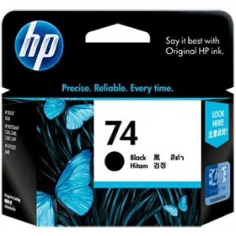 image else for Hp Cb335wa Hp 74 Black Ink Cartridge CB335WA