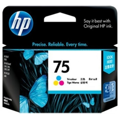 image else for Hp Cb337wa Hp 75 Tricolor Ink Cartridge CB337WA