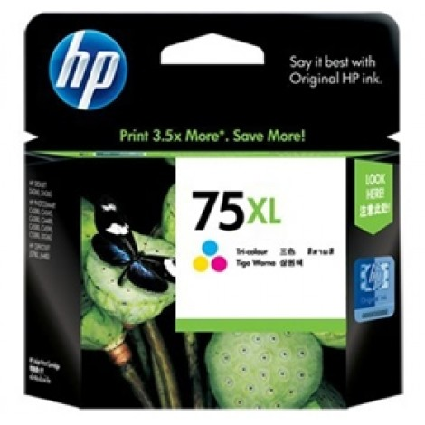 image else for HP 75XL Large Ink Cartridge Tri-color CB338WA