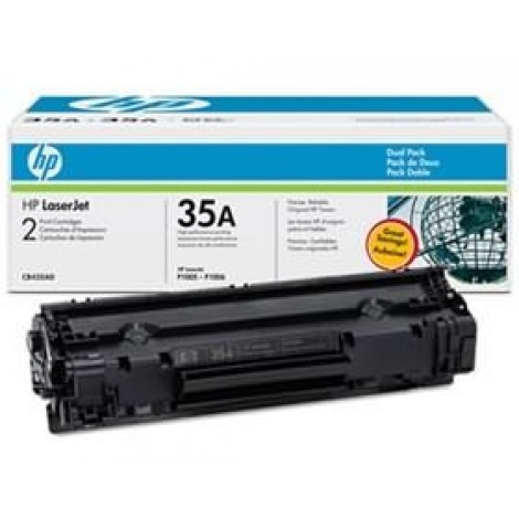image else for Hp Laserjet P1005/ 1006 Dual Pack Toner Cartridge Cb435ad CB435AD