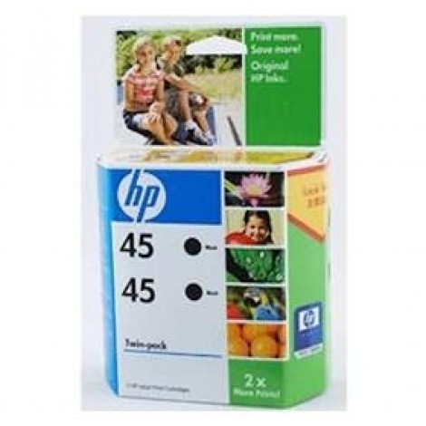 image else for Hp Cc625aa Hp 45 Black Ink Cartridge Twinpack-replacement Of Sa293aa CC625AA