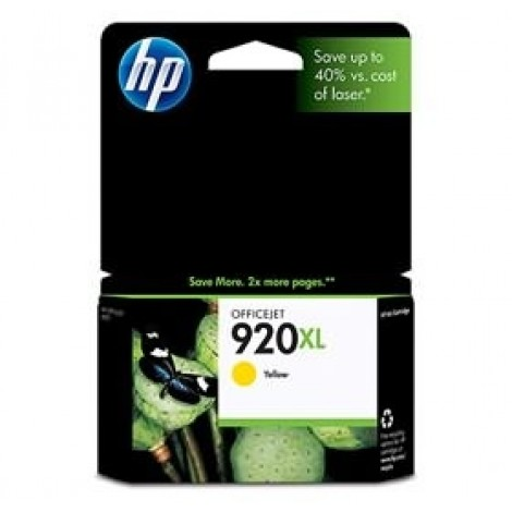 image else for HP CD974AA HP 920XL YELLOW INK CARTRIDGE, OFFICEJET 6500 CD974AA