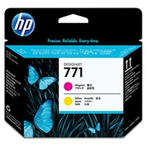 image else for Hp Print Head No 771 Yellow - Magenta For D Ce018a CE018A