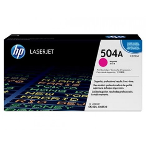image else for Hp Magenta Cartridge For Cp3520 Ce253a CE253A