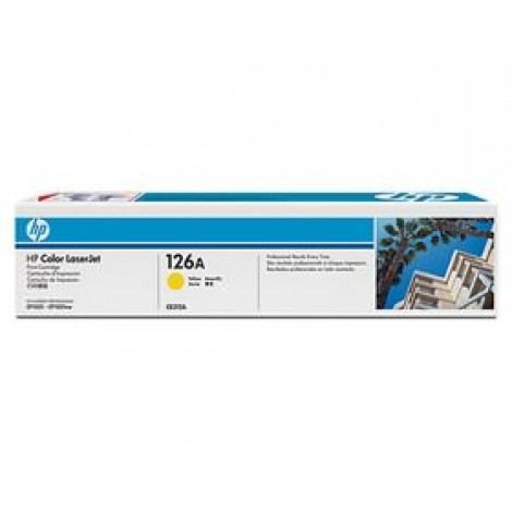 image else for Hp Ce312a 126a Yellow Laserjet Print Cp1025 Cartridge CE312A