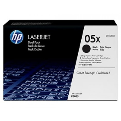 image else for Hp Ce505x Toner Cartridges Dual Pack Ce505xd CE505XD