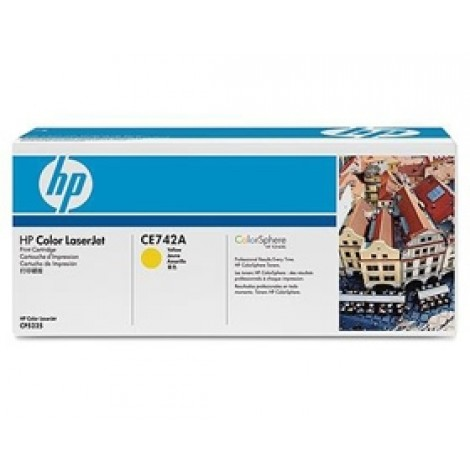 image else for Hp Ce742a Toner Cartridge Yellow Ce742a CE742A