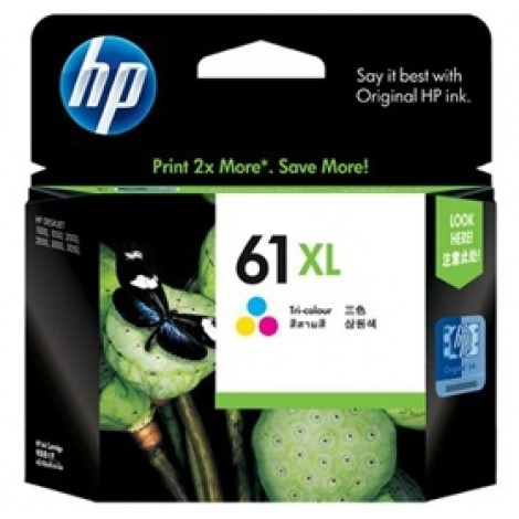 image else for Hp Ch564wa Hp 61xl Tri-color Inkjet Print Cartridge CH564WA