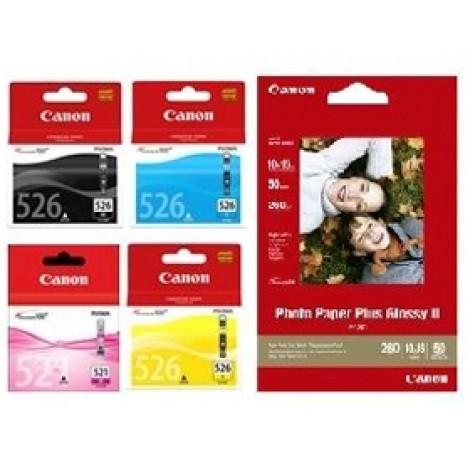 image else for Canon Cli526c M Y Bk Pp2014x6-50 Cli526vp CLI526VP