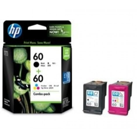 image else for HP CN067AA HP 60 COMBO PACK FOR DJ D2560 D1660 D2660 D5560 F4280 F2410 CN067AA