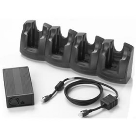 image else for Zebra Mc30xx Family 4-slot Charge Only Cradle Kit (us). Crd3000-401ces CRD3000-401CES