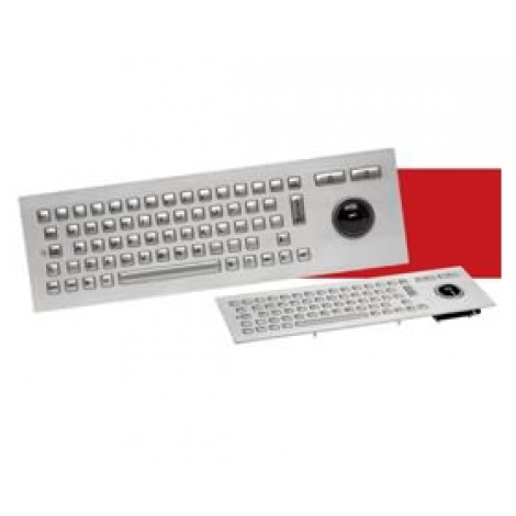 image else for Cherry Vandal-proof Keyboard-sta Inless Steel, Silver, Usb J86-4400luaus J86-4400LUAUS