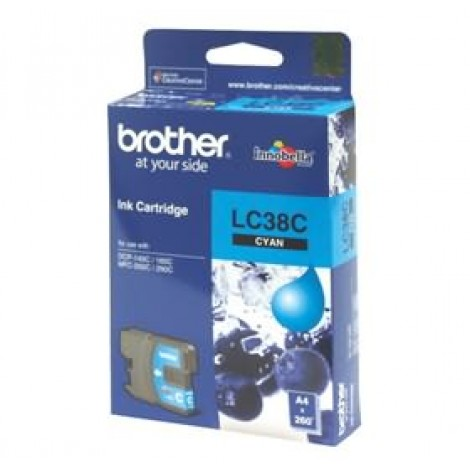 image else for Brother Lc38c Cyan Ink Cartridge For Dcp-145c/ 165c LC-38C