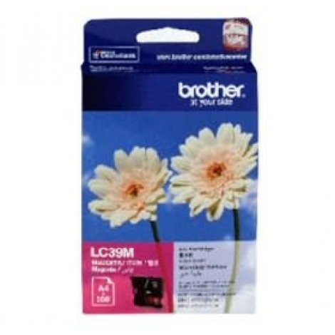 image else for Brother Lc39m Magenta Ink Lc39m Dcp-j125/ J315w/ J515w, Mfc-j220/ J265w/ J410 LC-39M