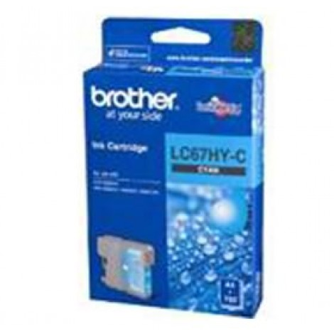 image else for Brother Lc67hyc Cyan High Yield Ink Cartridge For Mfc-5890cn/ 6490cw