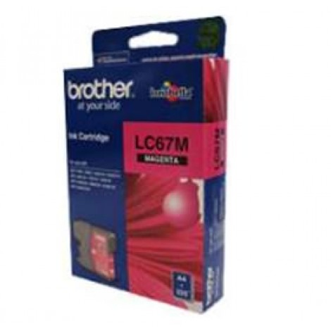 image else for Brother Lc67m Magenta Ink Cartridge For Dcp-385c LC-67M