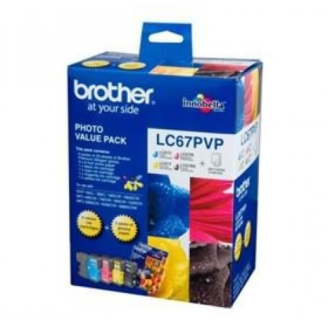image else for Brother Lc67pvp Lc-67 Photo Value Pack (with 40 Photo Sheet) For Dcp-385c LC-67PVP