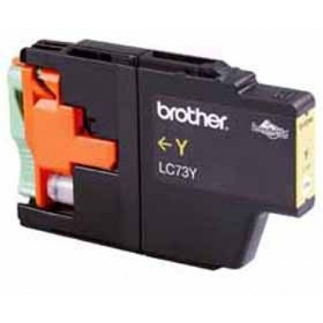 image else for Brother Lc73y Yellow High Yield Ink Cartridge - Up To 600 Pages LC-73Y