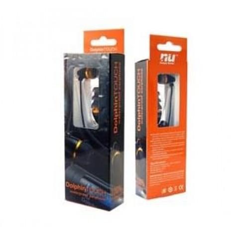 image else for Nu Sporty Waterproof Earphone Kit Black White/ Flat Line 9MPFDLK1004