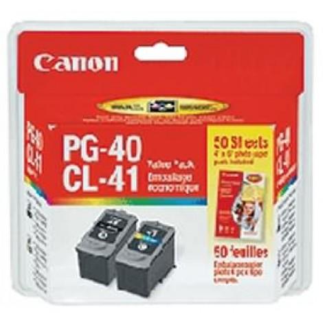 image else for Canon Pg40cl41vp 2 X Pg40 Pigment Black Ink Cartridges & 1 X Cl41 Fine Colour Ink Cartridge Pg40cl41vp PG40CL41VP