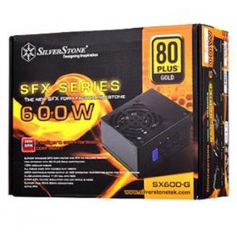 image else for Silverstone SX600 600W SFX PSU Fully Modular 2x (6+2) PCIE PSST-SX600G G540SX600G00420