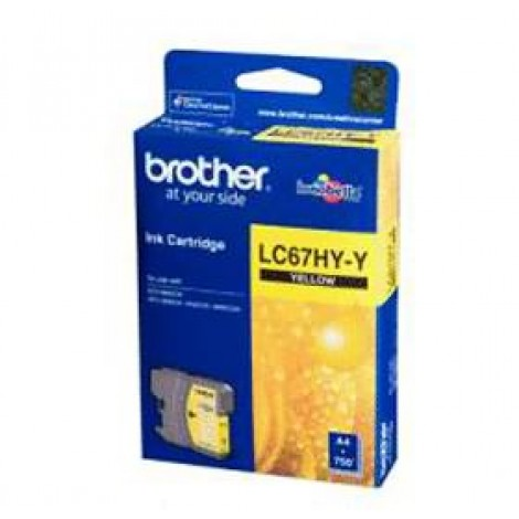 image else for Brother Lc67hyy Yellow High Yield Ink Cartridge For Mfc-5890cn/ 6490cw