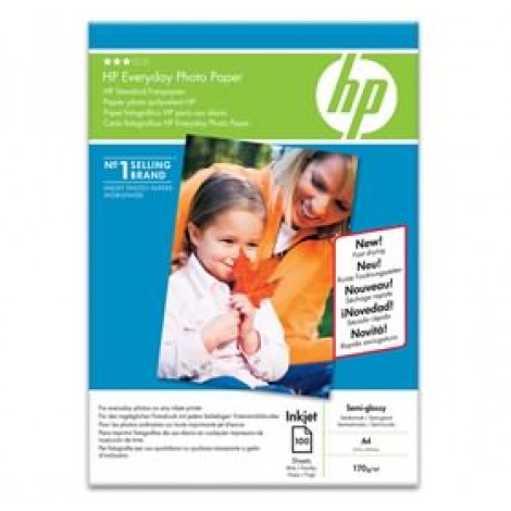 image else for Hp Everyday Semi-gloss Photo A4 Paper Q2510a Q2510A