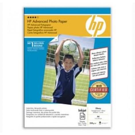 image else for Hp Q5456a Hp Advanced Gloss Photo Paper 25 Sht A4 Q5456A