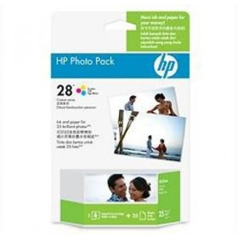 image else for Hp 28 Photo Pack Glossy 4x6.5 Ap 25 Sht Q8893aa Q8893AA