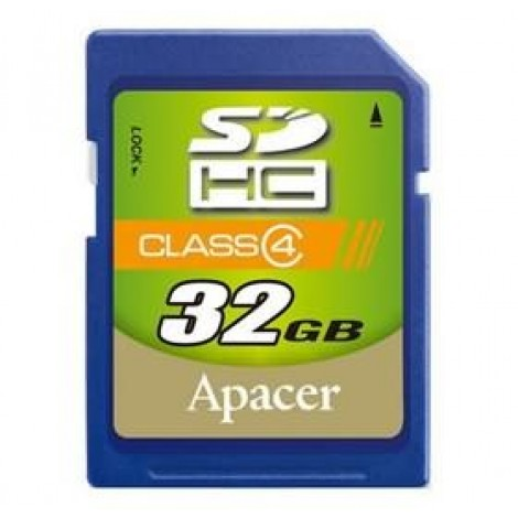image else for Apacer Sdhc 4gb Class4 Retail AP4GSDHC4-R