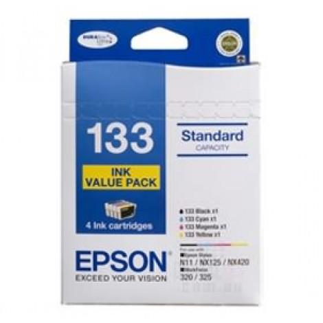 image else for Epson T133692 Epson 4 Standard Capacity T133 Inks Value Pack (4 Colours) C13T133692