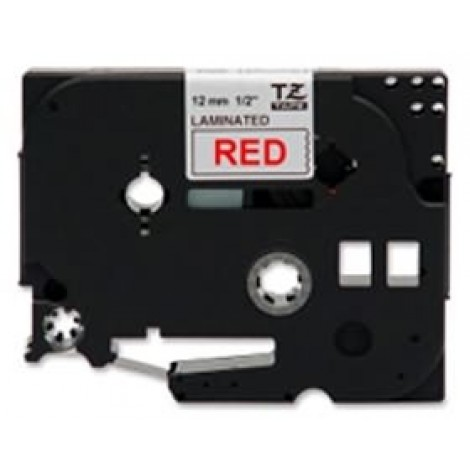image else for Brother Tze232 12mm Red On White Tz Tape