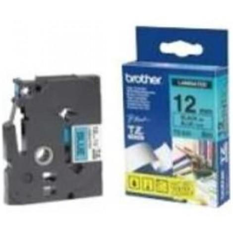 image else for Brother Tze531 12mm Black On Blue Tz Tape TZE-531