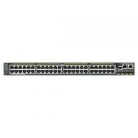 Cisco Catalyst 2960-x 48 Gige Poe 740w 1gb Ws-c2960x-48fps-l