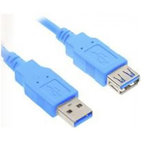 image else for Wicked Wired 2m Type A Male To Type A Female USB 3.0 Data Extension Cable WW-D-USB3EXT2M WW-D-USB3EXT2M