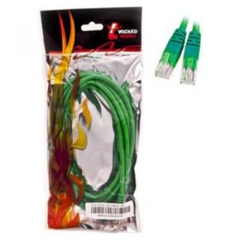 image else for Wicked Wired 1m Green CAT6 UTP RJ45 To RJ45 Network Cable WW-N-CAT6-GRN1M WW-N-CAT6-GRN1M